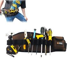 Professional Electrician DUTY Waist Tool Belt Bag Pouch Electrician Carpenter