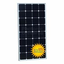 100W Solar Panel for Motorhome, Caravan, Campervan, Boat, Yacht, RV 100 watt