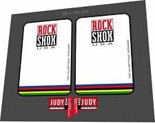 ROCKSHOX Judy DH 1997 Fork Sticker / Decal Set