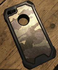 iPhone 7 Camo Army Hoesje Cover Case Met Gratis Screenprotector