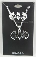 New DC Comics Batman Bling Bat Logo Pendant Necklace Cosplay Jewelry