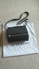 Authentic Givenchy Leather Cross Body-Shoulder Bag Pandora Box Grey -nearly new