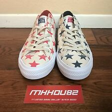 New Converse CTAS II Chuck Taylor All Star 2 Ox Red Blue Rare 151162C Size 10.5