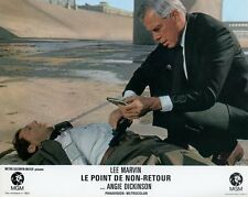 ANGIE DICKINSON LEE MARVIN  POINT BLANK 1967 VINTAGE LOBBY CARD ORIGINAL #4