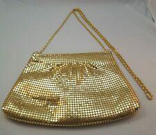 Gorgeous Gold Designer Beaded Evening Shoulder Designer Purse Handbag