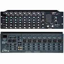 ASHLY MX-508 DUAL SPACE ANALOG RACKMOUNT 8 CHANNEL STEREO MIXER $40 INSTANT OFF