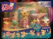 Littlest Pet Shop Fanciest Birthday Celebration!! BNIB! Hasbro 2007, 520 521 522