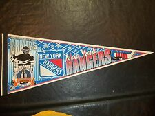 1994 Stanley Cup Finals Pennant New York Rangers vs Vancouver Canucks