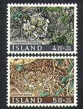 Iceland 1967 Birds/Nests/Eggs/Wildlife/Nature/Charity Fund 2v set (n36686)