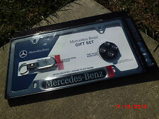 Mercedes-Benz ((GIFT SET)) license frame stem cap key chain W211 W222 W221 W220