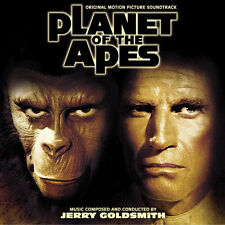 LA PLANETE DES SINGES (PLANET OF THE APES) MUSIQUE DE FILM- JERRY GOLDSMITH (CD)