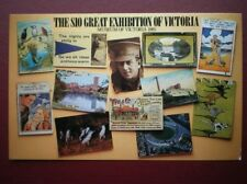 POSTCARD LONDON THE SIO GREAT EXHIBITION OF VICTORIA - MUSEUM OF VICTORIA 1985