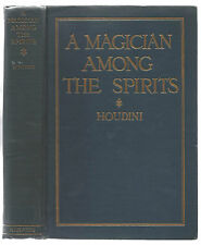 A MAGICIAN AMONG THE SPIRITS - HOUDINI  1924 -FIRST EDITION