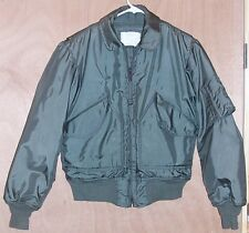 Mens Size L M USAF Cold Weather Flyers Jacket CWU-45/P Large Medium Air Force