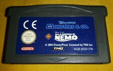 DISNEY PIXAR MONSTERS & CO. AND E - Game Boy Advance Gioco Game Gameboy