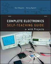 NEW Complete Electronics Self-teaching Guide with Projects by Earl Boysen Paperb