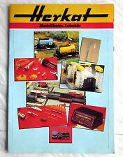 HERKAT Modellbahn-Zubehör 1986