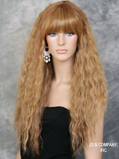 Super model Long Spanish Wavy Full Body Wig Blonde mix HEP 2216