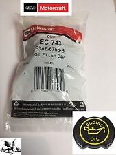 ! NEW OEM Motorcraft EC-743 Engine Oil Filler Cap 6.0L 6.4L 7.3L Ford Diesel !