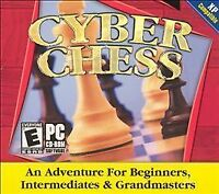 CYBER CHESS PC CD-ROM NEW & FACTORY SEALED