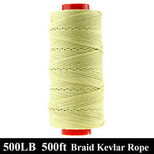 HOT 500ft 500lbs Kevlar Braided Line String Fishing Kite Camping Mountaineering