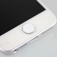 3PCS 1Color Round Metal Home Button Sticker For iPhone5/4S 4 iPod Touch iPad Lxt