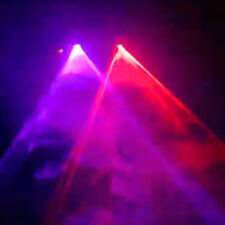 2-Lens RP 300mW Red+Purple Laser Lighting Stage Light DJ Show System SHINP 22RP