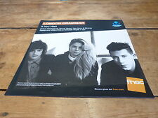 LONDON GRAMMAR - IF YOU WAIT !!!FRENCH RECORD STORE PROMO ADV / DISPLAY!!