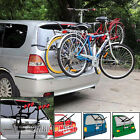 CAR CYCLE CARRIER 3 BICYCLE BIKE RACK UNIVERSAL FITTING SALOON HATCHBACK ESTATE
