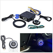 12V Car Keyless Entry Engine Push Start Button Lock Ignition Starter Immobilizer