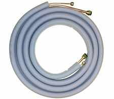"Mini Split Line Set Extension 25FT 1/4'' and 3/8"" Flared Insulated Copper"