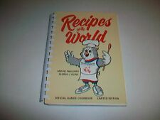 Rare RECIPES OF THE WORLD 1983 Universiade Official Games Cookbook Limited Ed