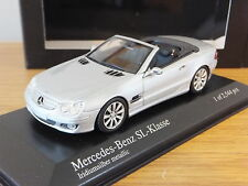 MINICHAMPS MERCEDES BENZ SL CLASS 2007 SILVER LHD CAR MODEL 400 036130 1:43