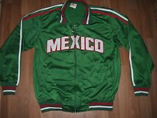Choice Sportwear Men's Mexico Sewn letters Track Soccer Jacket Size Medium Green