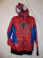 mens marvel spider-man costume suit sweatshirt  hoodie jacket 2XL nwt