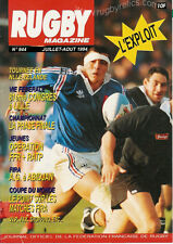 RUGBY No 944 Jul/Aug 1994 OFFICIAL MAGAZINE OF THE FFR - FRANCE