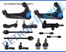 13pc Complete Front Suspension Kit Upper Control Arm Ball Joints Tie Rod End
