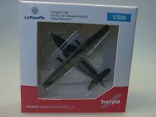 """Herpa Wings Transall C-160 Luftwaffe LTG 62 """"Flyout Wunstorf"""" - 529525 - 1/500"""