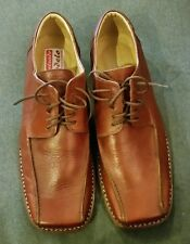 Gorgeous Men's High Quality Man-Made Leather Dress Shoes w/ Square Toe Size 11