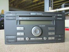 6000 cd radio 4m5t18c815ac Ford Focus II DA3 1.6 TDCi Bj04