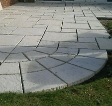 Riven Paving slabs - 4 sizes, various colours