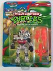 Robotic Rocksteady figure TMNT Teenage Mutant Ninja Turtles 1993 Playmates MOC