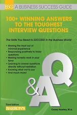 Barron's Business Success: 100+ Winning Answers to the Toughest Interview...