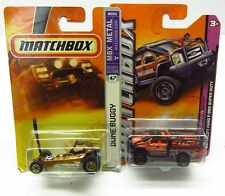 * 1/64 * Matchbox X 2 * Superlift Ford F-350 Super Duty + Dune Buggy * MIP *