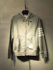 Thom Browne Gray Zip-up Hoodie  Size3(L)