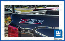 2 - 2015 Z71 Decals - F stickers Parts Chevy Silverado GMC Sierra Truck Bed 4x4