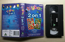 BBC - TOYBOX 2 ON 1 - WILLIAM, FIREMAN SAM, OAKIE DOKE, NODDY, PINGU - VHS VIDEO