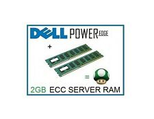 4gb (2x2 GB) Memoria RAM upgrade para el Dell PowerEdge SC430 & SC440 servidor sólo