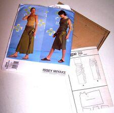 2002 ISSEY MIYAKE VOGUE Sewing PATTERN #2556 Sz 14-18 Dress & Skirt FACTORY FOLD