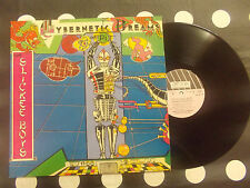 "The Slickee Boys ""Cybernetic Dreams Of Pi"" LP New Rose Records-ROSE 33-1984 FR"
